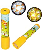 1 Stück _ großes Kaleidoskop - ' bunte Motive ' - Bildershow Kinderkino / Bilder - Kinderkaleidoskop - Dia - für Kinder Mädchen Jungen - Projektor - - Kino Diaprojektor - optisches Spielzeug / auch als Mitgebsel Kindergeburtstag / Physik - Kunststoff Kunststoffkaleidoskop - Spielzeug