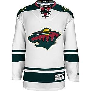 Reebok NHL Eishockey Trikot Jersey Premier Minnesota Wild weiß blank