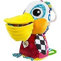 Lamaze Baby Spielzeug Philipp, der Pelikan Clip & Go | Hochwertiges Kleinkindspielzeug | Greifling stärkt Eltern-Kind-Bindung | Ab 0 Monate preisvergleich bei kleinkindspielzeugpreise.eu