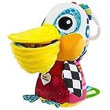 Lamaze Baby Spielzeug Philipp, der Pelikan Clip & Go | Hochwertiges Kleinkindspielzeug | Greifling stärkt Eltern-Kind-Bindung | Ab 0 Monate