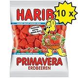Haribo Primavera Erdbeeren (10x 200g Beutel)