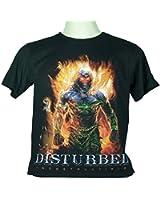 DISTURBED (INDESTRUCTIBLE) Large Size L New! T-shirt 931