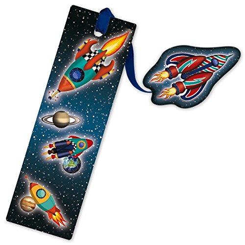pirElla Glitter-Lesezeichen Rakete ()