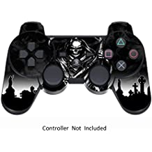 Pelle for PS3 Controller Decalcomania Playstation 3 Adesivo - Sony DualShock Wireless Controllore Sixaxis Gioco Sticker Skins - Reaper