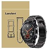 Ceston Metal Acier Classique Bracelet De Remplacement pour Montres Connectées Huawei Watch GT (Noir)