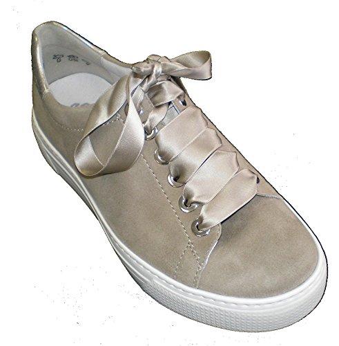 Semler Damen Alexa Sneaker, Beige (Panna), 38 EU