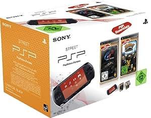 PlayStation Portable - Konsole E1004, schwarz mit Gran Turismo [Essentials] + Ratchet & Clank: Size Matters [Essentials]