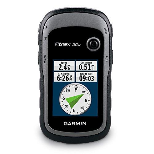 """Garmin eTrex 30x - GPS para carrera de 2.2""""(mapas de Europa, TFT, USB, microSD), color negro"""