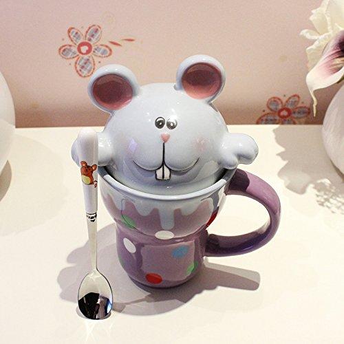 coffee-cup Dana Carrie Schöne's Animal Wasser Schüssel Keramik Tasse für Tasse Paar Kinder...