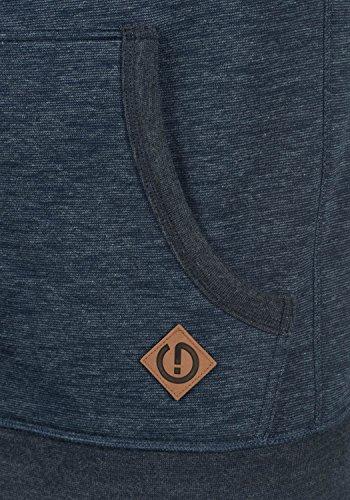 SOLID Vitu - felpa con cappuccio da Uomo Insignia Blue Melange (8991)