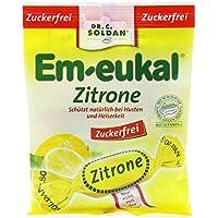 Em-eukal Bonbon ohne Zucker, Zitrone, 75 g preisvergleich bei billige-tabletten.eu