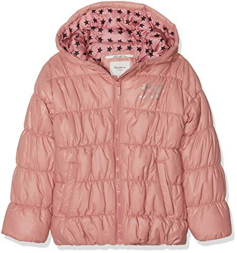 Pepe Jeans Margot JR, Chaqueta para Niñas, Rosa (Dusty Pink 372), 12...