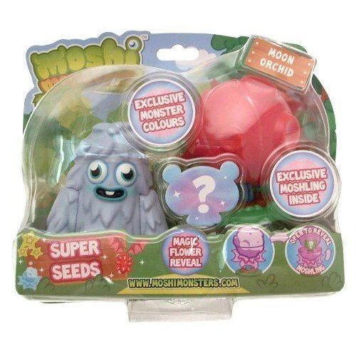 Moshi Monsters Super Samen Furi & Mond-Orchidee Rot