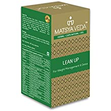 Matsya Veda LeanUp Natural Supplement For Weight Loss And Detox - 60 Capsules