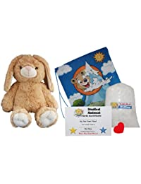 "Make Your Own Stuffed Animal ""Flopsy The Bunny"" - No Sew - Kit With Cute Backpack!"