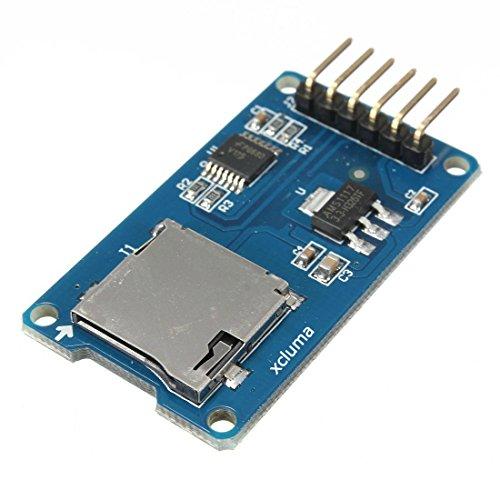 xcluma Micro SD Card Module TF Card Memory Shield SD Storage for Arduino