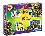 Clementoni 13468 - Edukit 4 in 1 Ninja Turtles