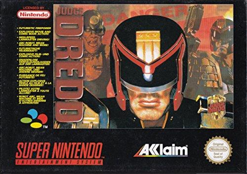 JUDGE DREDD SUPER NINTENDO SNES [Nintendo Super NES] - Amazon Videogiochi