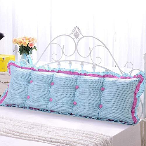 YLCJ Cojín de dormitorio Dormitorio Cojines de sofá cama Volver Cojín de Tatami Rectangular Lindo-F diámetro100cm (39 pulgadas)