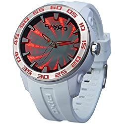 PX-8 Time Tunnel WHITE+RED
