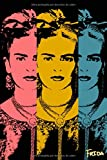"Frida: Kahlo Tres | Lined/Ruled Journal (6"" x 9"" Notebook)"