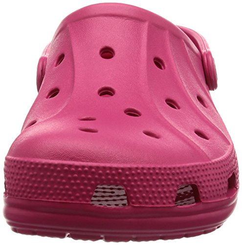 Crocs Clogs Feat, für Damen, 37/38 Pink - Himbeerfarben