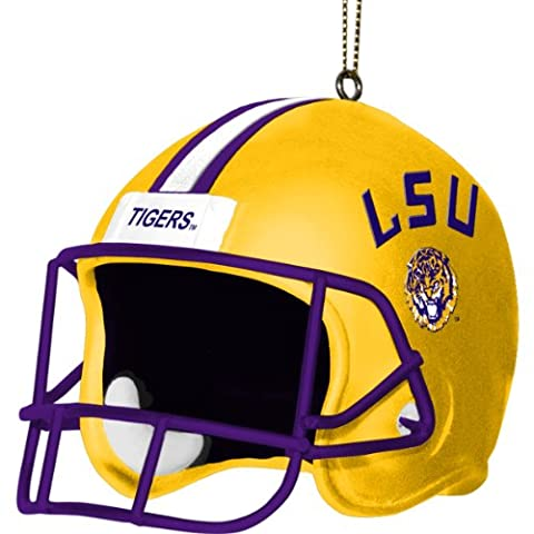 NCAA LSU Fightin Tigers 3 Inch Helmet Ornament
