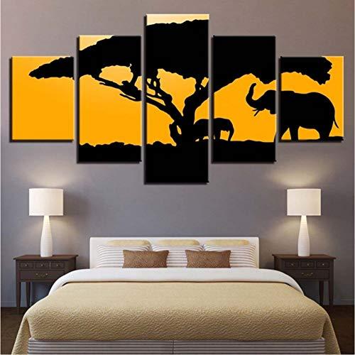 zyzdsd Lienzo Modular Wall Art Home Decor For Living Room HD Prints...
