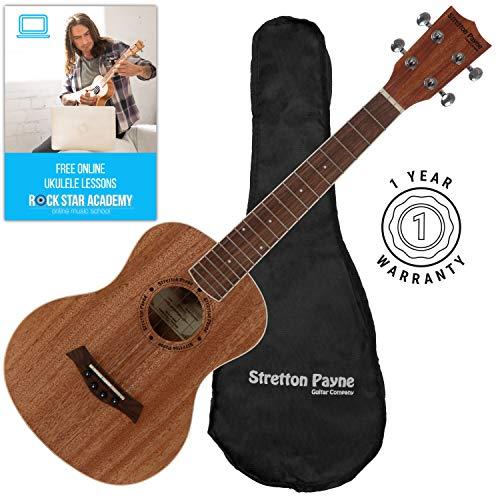 Stretton ukulele tenore con gigbag e lezioni online