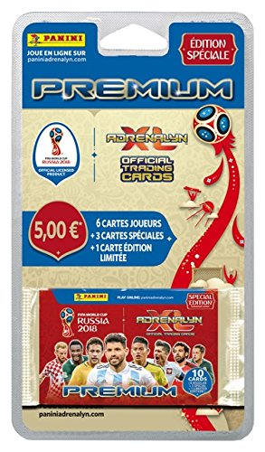 Panini France SA Coupe du Monde Tcg 2018 Blister 10 Cartes, 2402-047