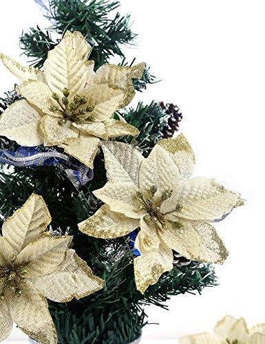 fiori artificiali natalizi