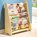 MEILING Bücherregal Kinder Bücherregal Kindergarten Bücherregal Kinderhaus Einfache Gemalte Rahmen Cartoon Spielzeug Lagerung Rack ( Farbe : 7 )