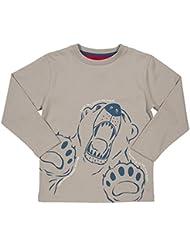 Kite camiseta de los niños - oso polar