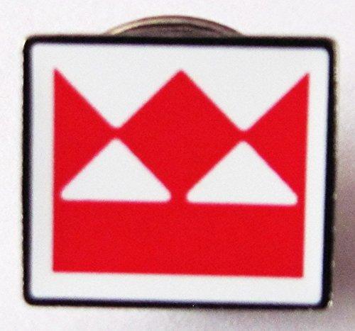 Firmenlogo - Pin 12 x 11 mm