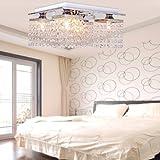 Lightinthebox Kristall Deckenleuchte moderne für Wohnzimmer Schlafzimmer Studierzimmer