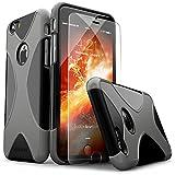 iPhone 6 Case, X-Case 6s Black Gray *Bonus - Best Reviews Guide
