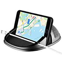 Beeasy Car Phone Holder Dashboard Non-Slip, Universal Car Mount for Mobile Phone, in Car Phone Holder Compatible with iPhone Samsung Galaxy Motorola Huawei Oneplus Sony Nokia GPS Device iPad Tablets