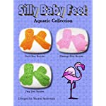 Silly Aquatic Baby Feet Bootie Crochet Pattern