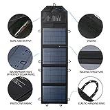 21W Solar Ladegerät mit 2 USB Ladeanschluss