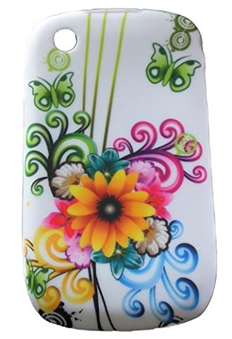 Xtra-Funky Exclusive Soft Silicone Flower Floral & Butterfly Case for