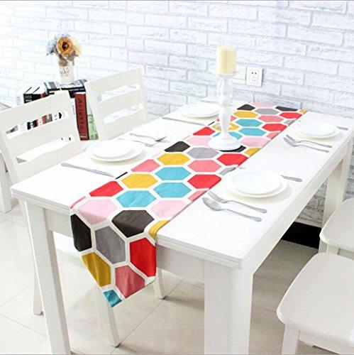 Miaoge Cotone spesso di colore semplici corridori europea tavolo table attiva stampa tavolino table bandiera 30*200cm