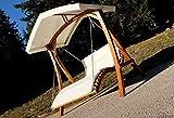 Design Hollywoodschaukel Doppelliege mit Dach Modell ′ARUBA′ - 9