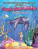 Livre à Colorier Pour Enfants Sur Les Fonds Sous-Marins