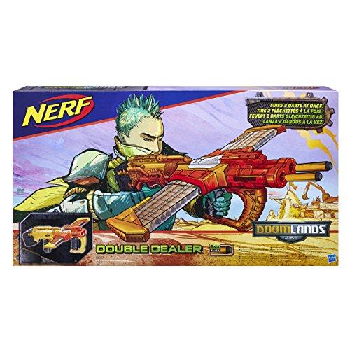 Hasbro Nerf B5367EU4 - Doomlands Double-Dealer, Spielzeugblaster -