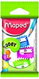 Maped Boogy Pencil Sharpeners (Pack of 3 in Assorted Colours)