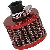 12mm Filtre à Air Moteur Voiture Turbo Ventilation Reniflard de Carter Rouge