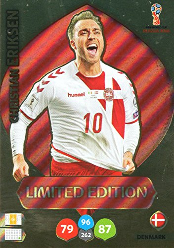 rld Cup 2018 Russland – Christian Eriksen Limited Edition Trading Card – Dänemark (Eriksen Match Attax)