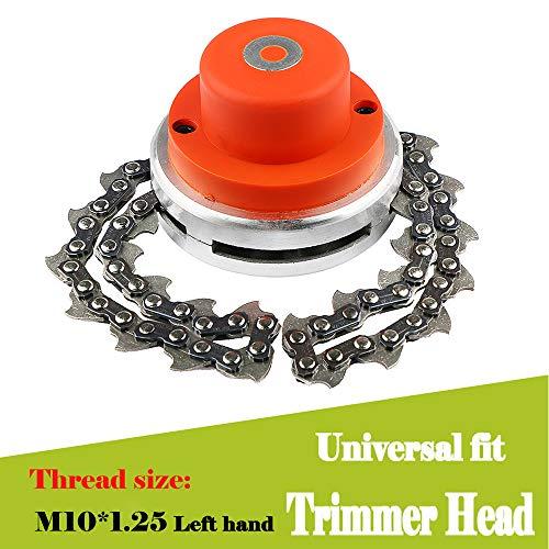 LUCKYHH Universal-FassRasentrimmer-Spule 65 Mangan-Kettenmäher Zubehör für Gasschneider, Motorsense