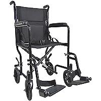 Aidapt VA171 Kompakter Transport-Rollstuhl aus Stahl