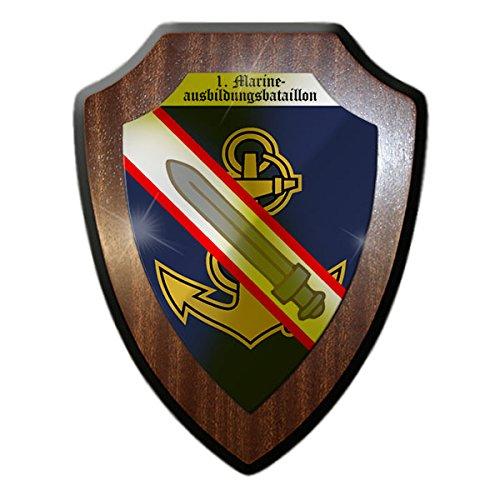 Wappenschild/Wandschild -Marineausbildungsbataillon Marine Lehrkompanie Wappen Abzeichen Bundeswehr Eckernförde Emblem Bundesmarine Btl#14743 -